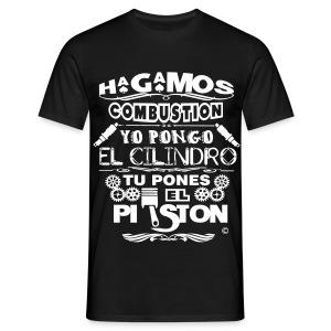 Hagamos combustion - Camiseta hombre