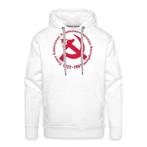 Soviet 1922-1991 Hoodie - Men's Premium Hoodie