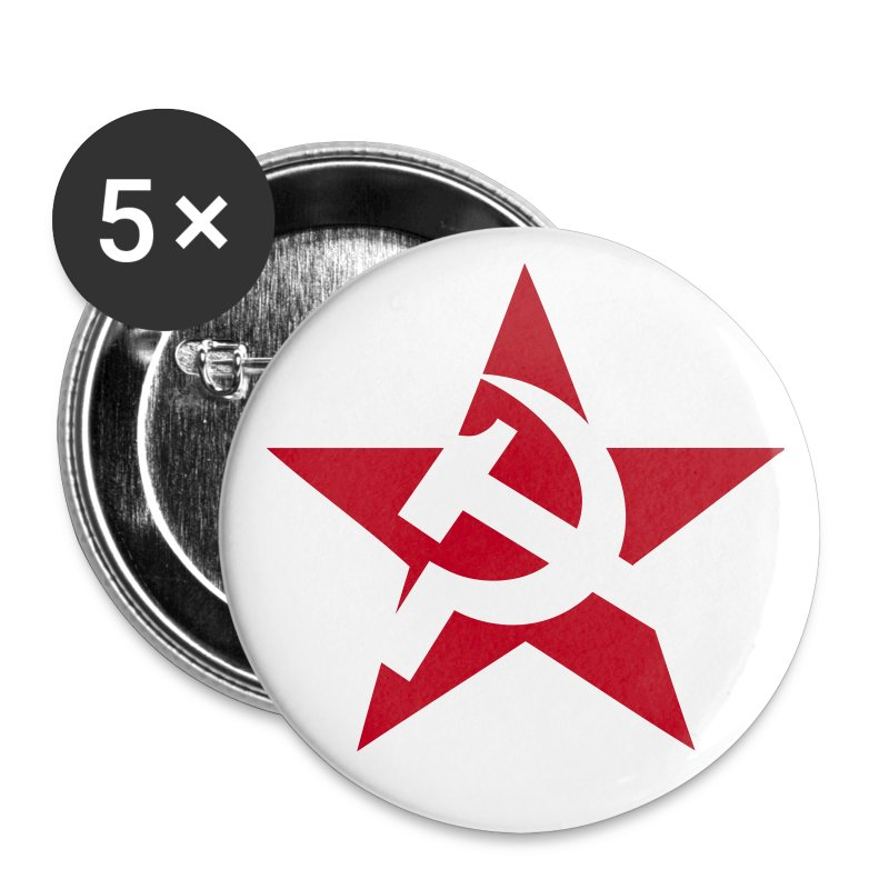 Soviet Star Badges - Buttons small 25 mm