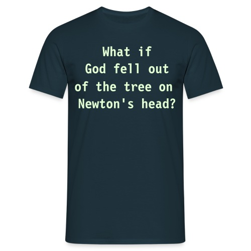 What if God - Mannen T-shirt