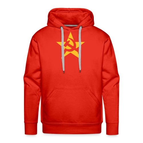Soviet Star Hoodie - Men's Premium Hoodie
