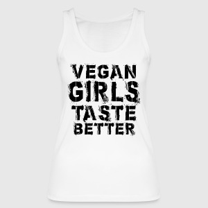 Vegan Girls Taste Better - Frauen Bio Tank Top