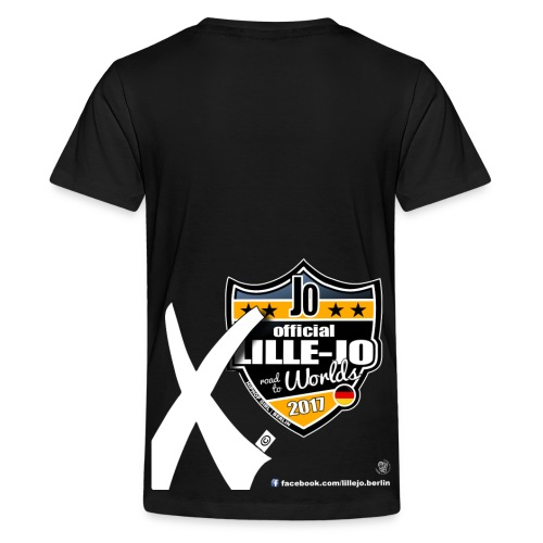 T-Shirt UDO-WORLDS/ TEENS and ADULT by LILLEJO (2017) - Teenager Premium T-Shirt