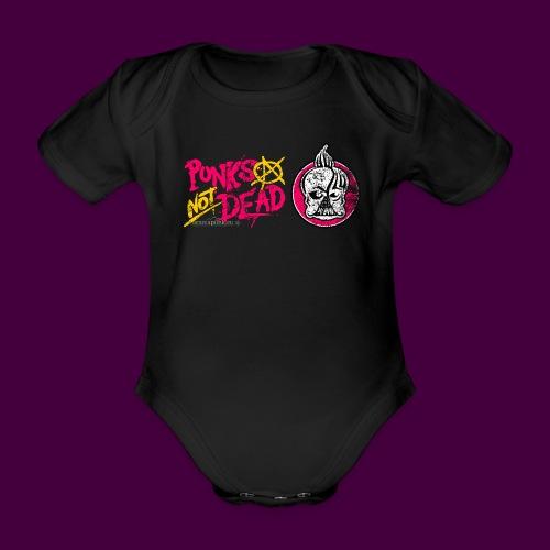 Aromapunk Osttirol Logo - Baby Bio-Kurzarm-Body