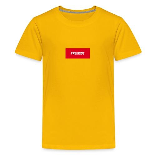t-shirt 'freeride' - T-shirt Premium Ado