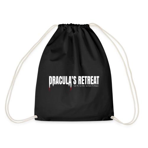 Drawstring Bag Black Dracula's Retreat - Drawstring Bag