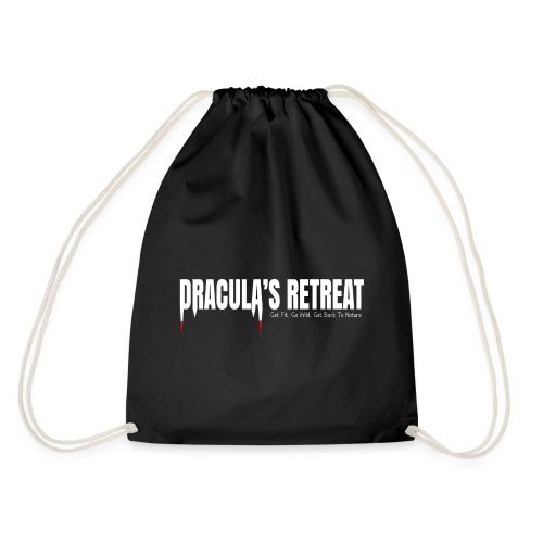 Drawstring Bag Black Dracula's Retreat - Drawstring Bag