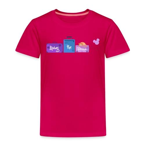Living The Dream Log - Kids - Kids' Premium T-Shirt