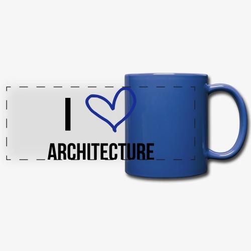 TESS Architecture Lover Tasse - Panoramatasse farbig