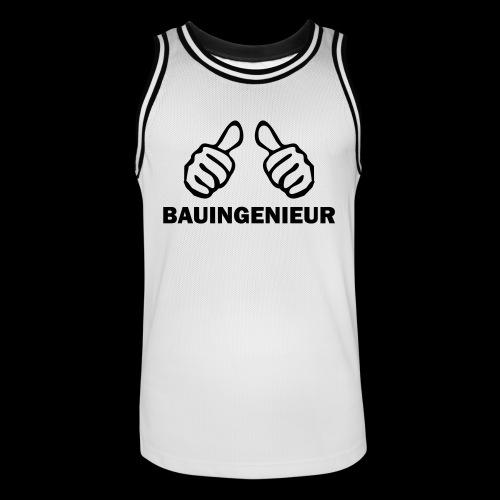BauinGenieur Master - Männer Basketball-Trikot