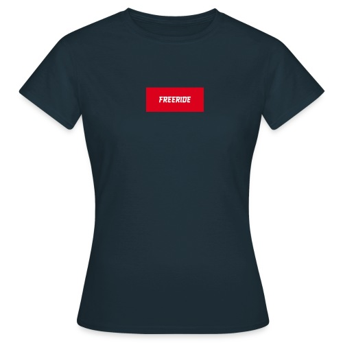 t-shirt freeride - T-shirt Femme