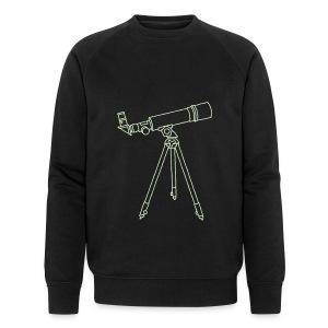 Teleskop - Männer Bio-Sweatshirt von Stanley & Stella