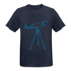 Teleskop - Männer T-Shirt atmungsaktiv