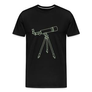 Teleskop - Männer Premium T-Shirt