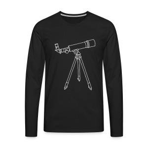 Teleskop - Männer Premium Langarmshirt