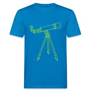 Teleskop - Männer Bio-T-Shirt