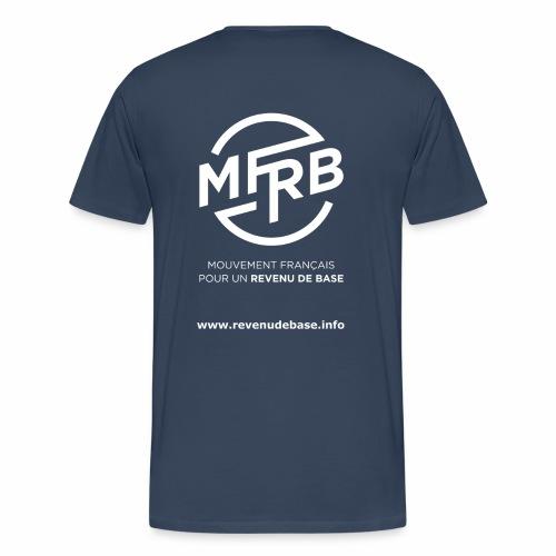 Tee shirt homme Revenu de Base - T-shirt Premium Homme