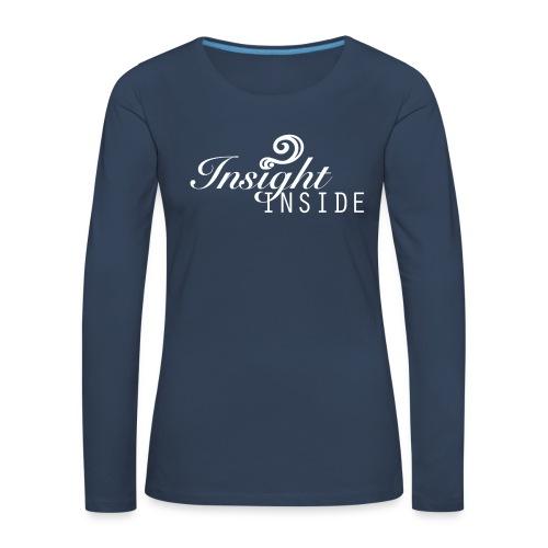Insight - Frauen Premium Langarmshirt