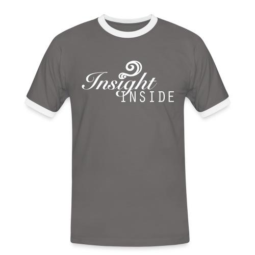 Insight - Männer Kontrast-T-Shirt