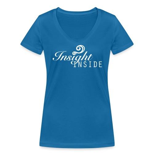 Insight - Frauen Bio-T-Shirt mit V-Ausschnitt von Stanley & Stella