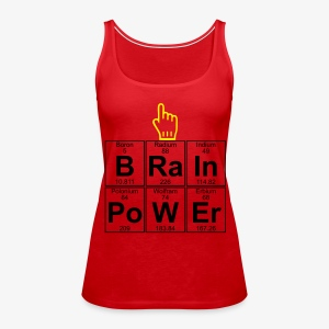 Girl Brain Power - Frauen Premium Tank Top