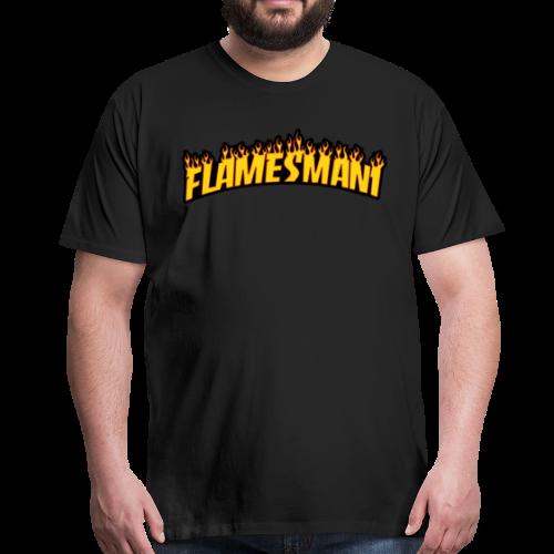 Flasher (Trasher Style) - Herre premium T-shirt