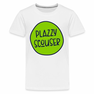 Plazzy Scouser Teenager's T-Shirt - Teenage Premium T-Shirt