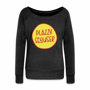 Plazzy Scouser Women's Boat Neck Top - Women's Boat Neck Long Sleeve Top