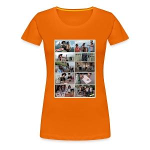 Stencil - Frauen Premium T-Shirt