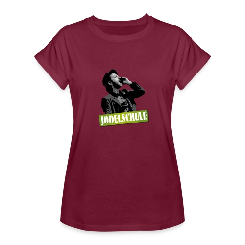 Jodel Schule Comic Style - Frauen Oversize T-Shirt
