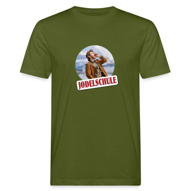Jodel Schule Classic - Männer Bio-T-Shirt
