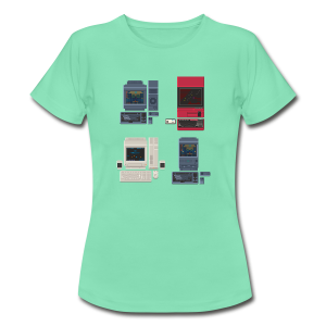 Japanese Computers - Women's T-Shirt