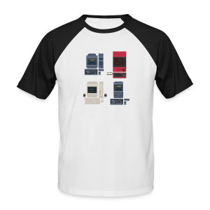 Japanese Computers - Men's Baseball T-Shirt