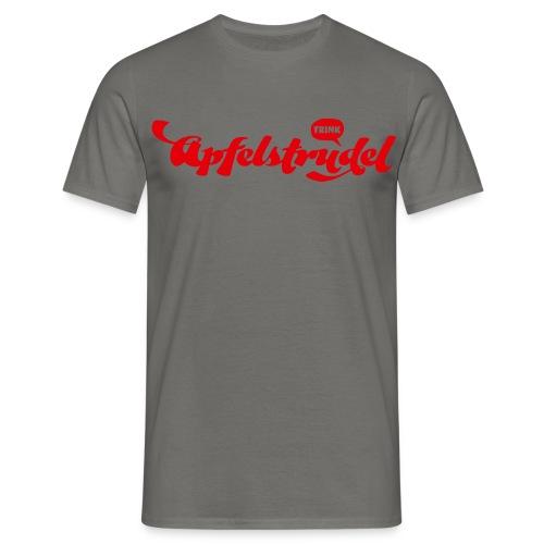 TRINK APFELSTRUDEL I love Apfelstrudel - Männer T-Shirt