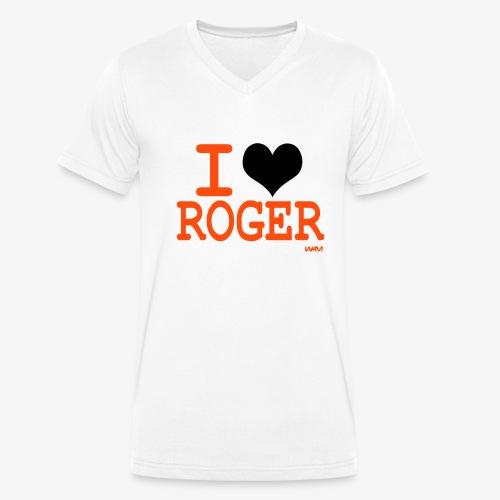 LOVE ROGER - T-shirt bio col V Stanley & Stella Homme