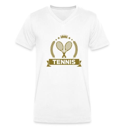 TCF ACADEMY - T-shirt bio col V Stanley & Stella Homme