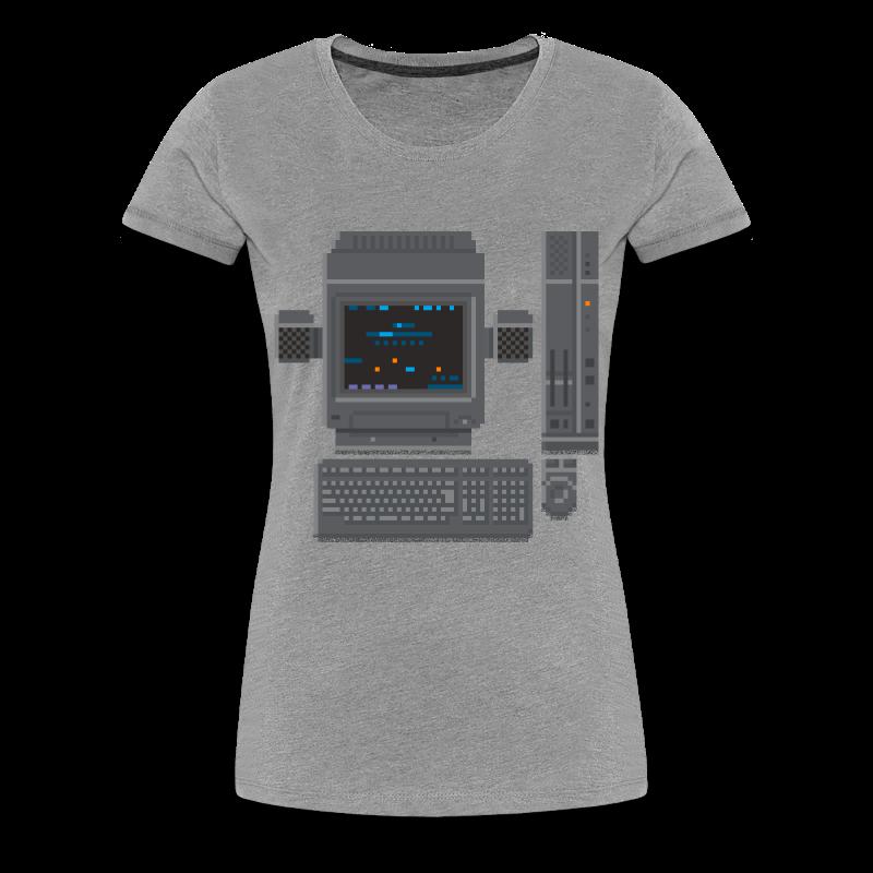 Japanese Computer X68000b - Women's Premium T-Shirt