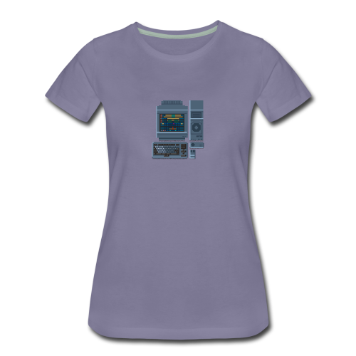 Japanese Computer FMT 1 - Women's Premium T-Shirt