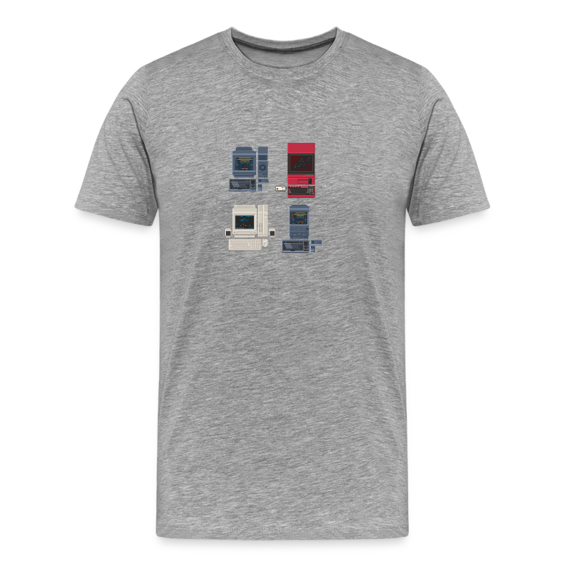 Japanese Computers - Men's Premium T-Shirt