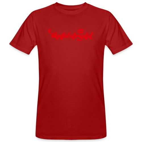 TRINK APFELSTRUDEL I love Apfelstrudel - Männer Bio-T-Shirt