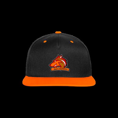 Team Cap - Contrast snapback cap