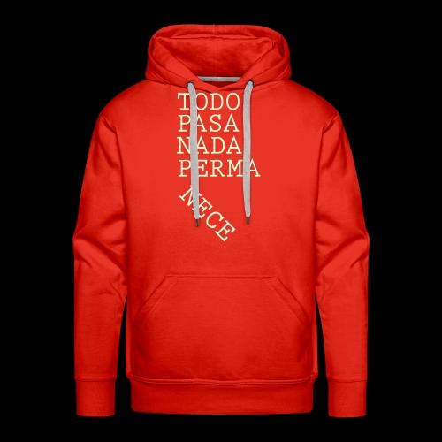 The Red Conspiratee - Sudadera con capucha premium para hombre