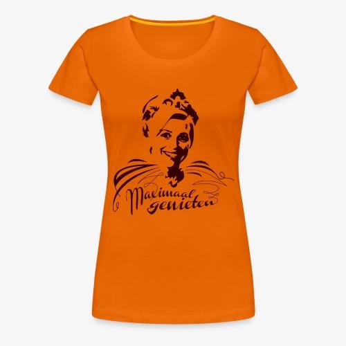 Maximaal genieten V - Vrouwen Premium T-shirt
