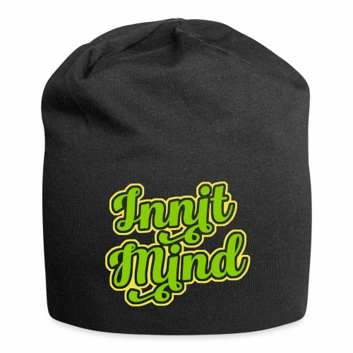 Innit Mind, Bristol Slang, Relaxed Beanie Hat - Jersey Beanie