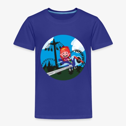 Pretparken: Vliegtuigjes - Kinderen Premium T-shirt