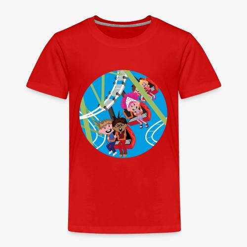 Pretparken: Achtbaan - Kinderen Premium T-shirt