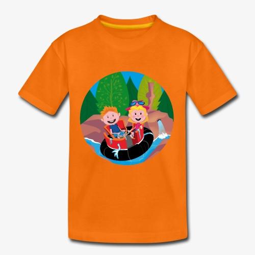 Pretparken: Wildwaterbaan - Kinderen Premium T-shirt