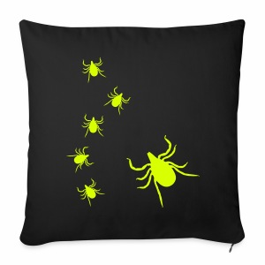 Zecken - Sofa pillow cover 44 x 44 cm