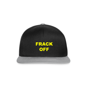 Anti Fracking Cap - Snapback Cap