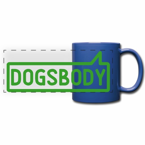 Dogsbody Colour Mug - Full Color Panoramic Mug